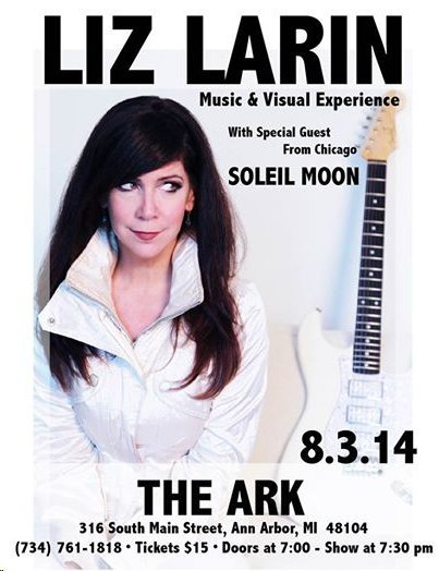 Liz Larin and Soleil Moon poster